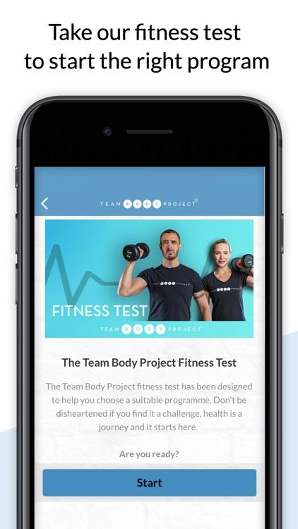Team Body Project screenshot-7