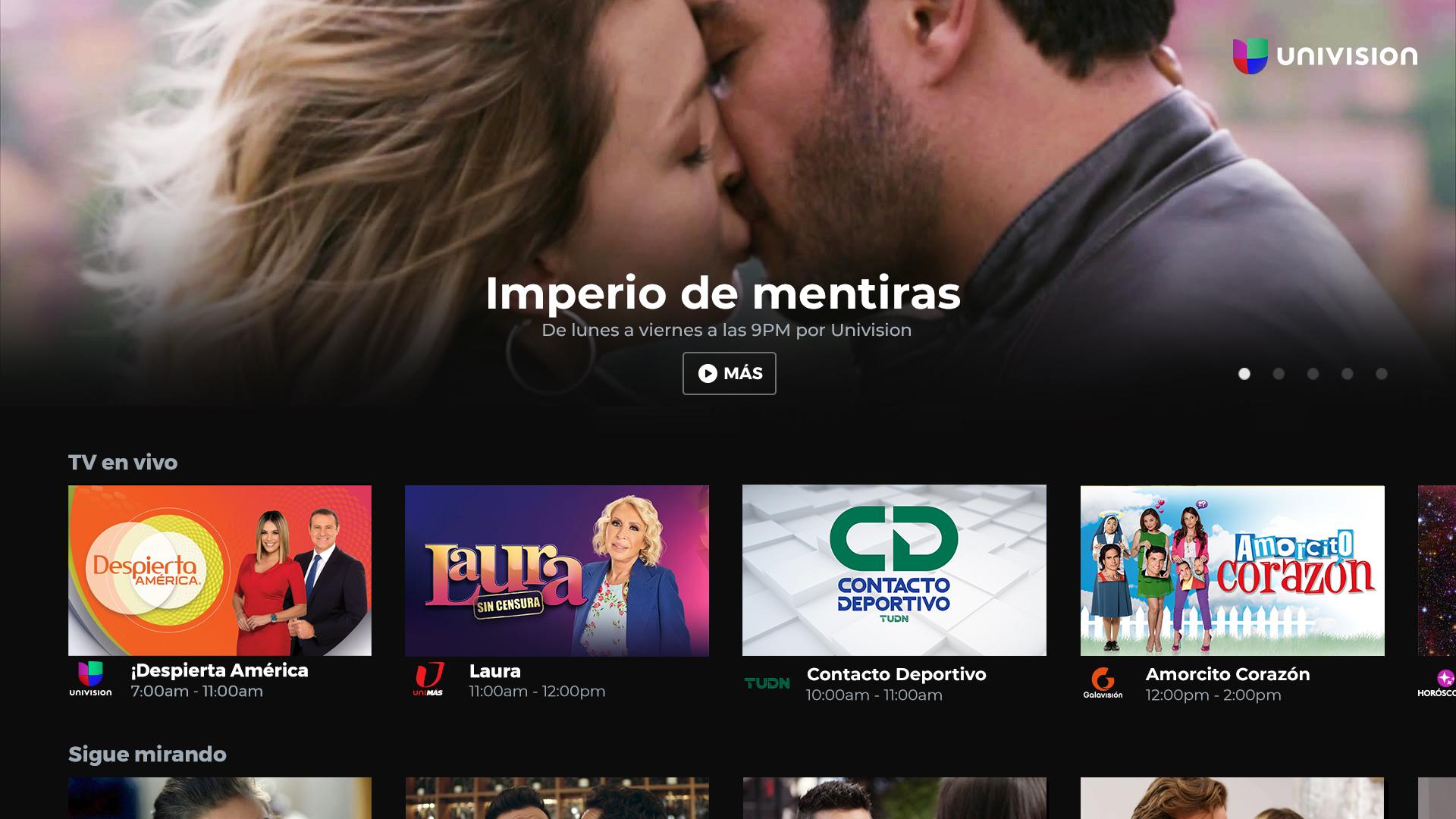 Univision App screenshot 11