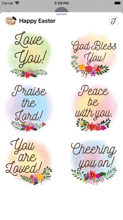 Easter Greetings, Bible Verses screenshot-5