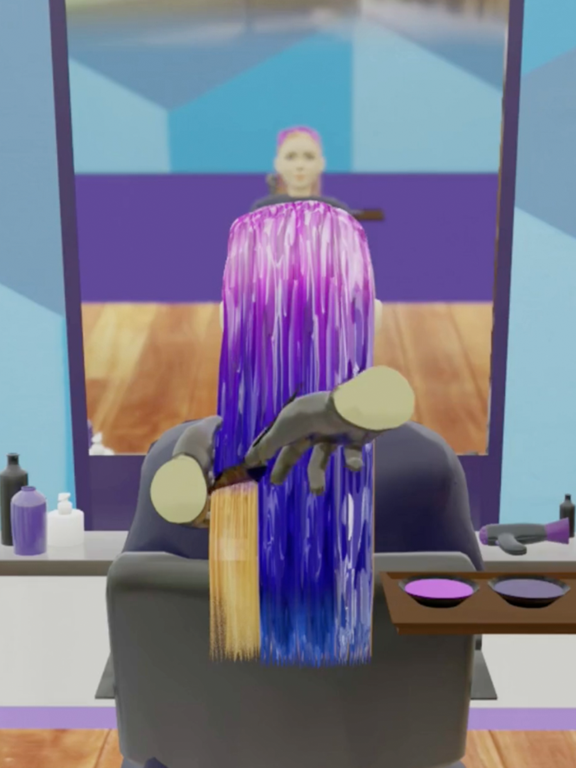 iPad Image of Hair Dye!