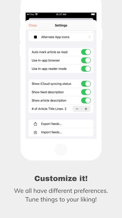 messages.download An Otter RSS Reader software
