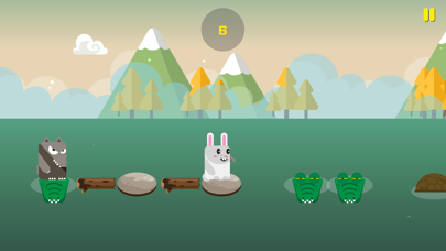 Rabbit Escape-Water jump screenshot 2