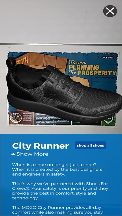 Shoes For Crews Ar By Vr Vision