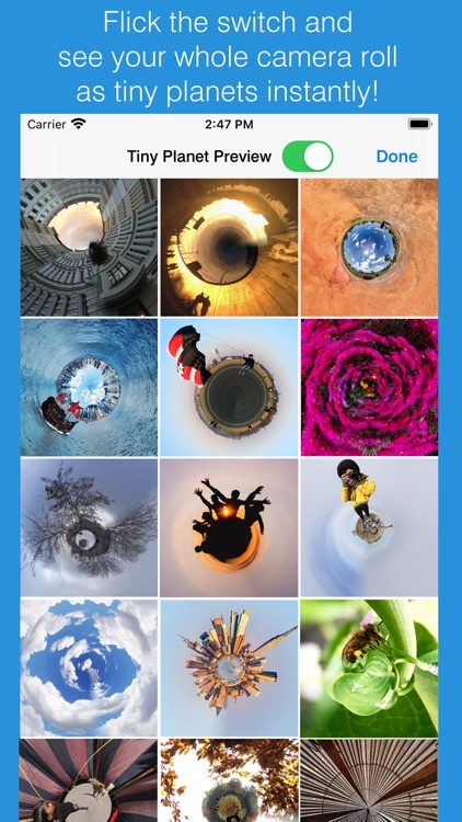 Tiny Planet Photos and Video screenshot-3
