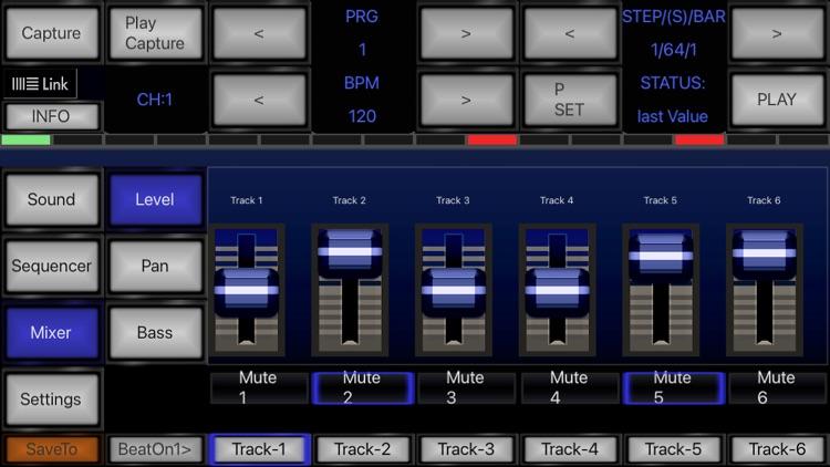6X806 Drum Machine Synth screenshot-3