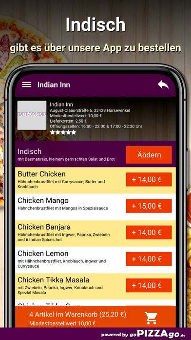 Indian Inn Harsewinkel screenshot 6
