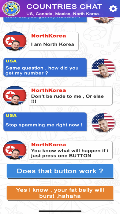 Countries Chat screenshot 1