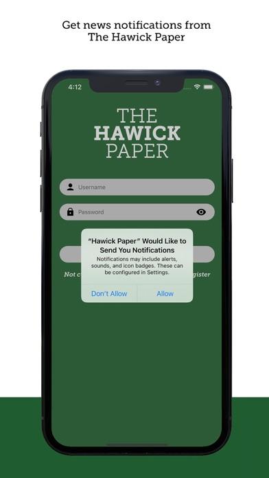 The Hawick PaperScreenshot of 8