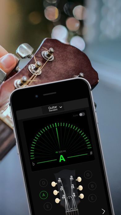 Guitar Tuner Pro, Bass Ukulele Screenshot