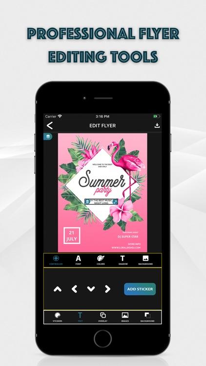 Flyer Maker: Graphic Designer screenshot-3