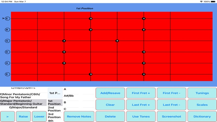 The Chord and Scale Finder screenshot-9