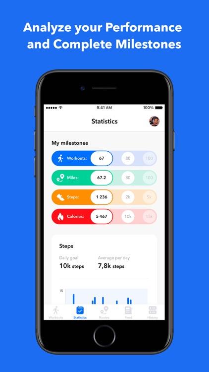 Step Counter & GPS Walks screenshot-5
