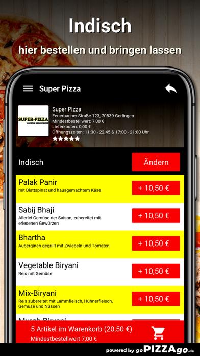 Super Pizza Gerlingen screenshot 6
