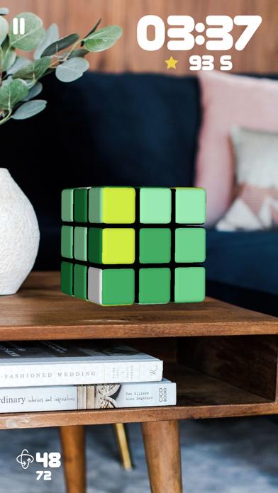 Screen Shot Rubiks Cube AR 6