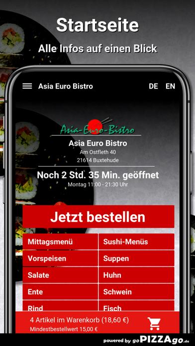 Asia Euro Bistro Buxtehude screenshot 2