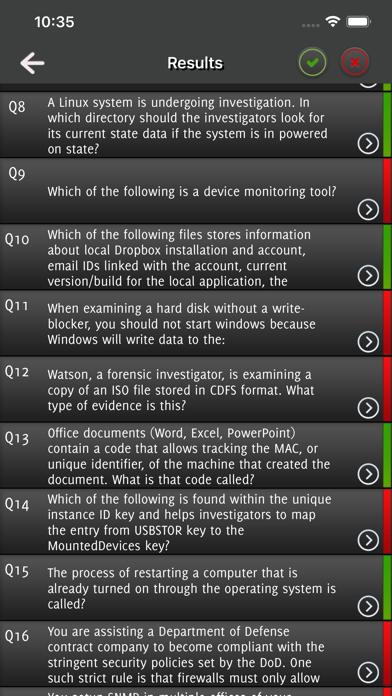 CHFI Computer Hacking Exam screenshot 5