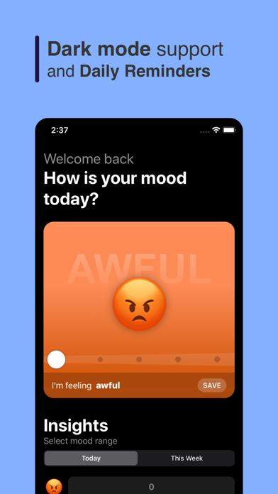 Mood Tracker - Remind Me screenshot 3