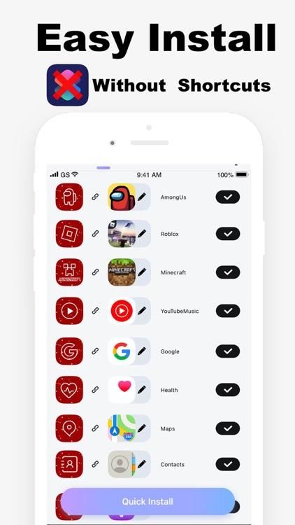 Argon - App Icons & Widgets screenshot-3