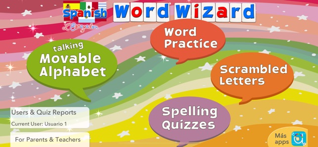 spanish word wizard for kids on the app store spanish word wizard for kids