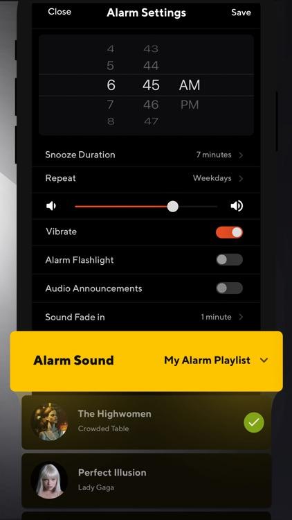 Alarm Clock: Music Sleep Timer screenshot-7