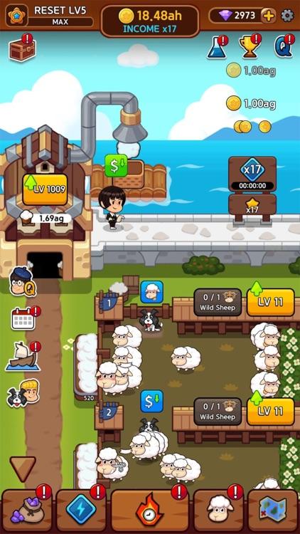 Sheep Farm: Idle games, Tycoon screenshot-5