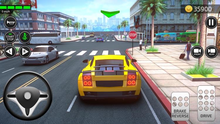 Driving Academy 3D Car Games screenshot-5