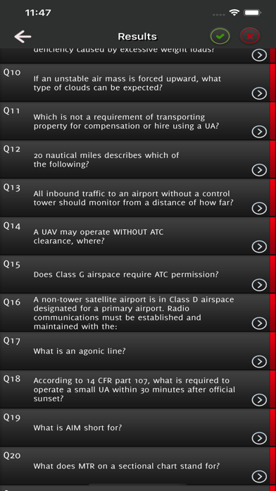 Drone Remote Pilot Exam (FAA) screenshot 5