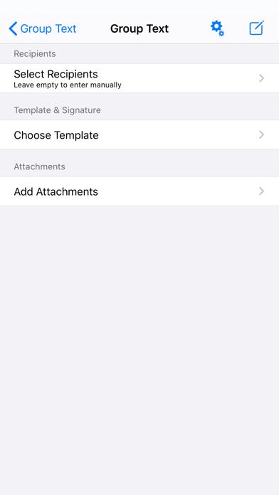 Screenshot #2 pour Text Template