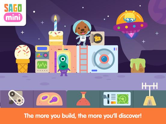 Sago Mini Space Blocks Builder screenshot 8