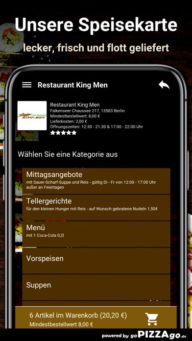 Restaurant King Men Berlin screenshot 4