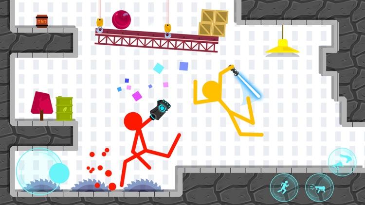 Stickman Project: Stick Fight screenshot-4