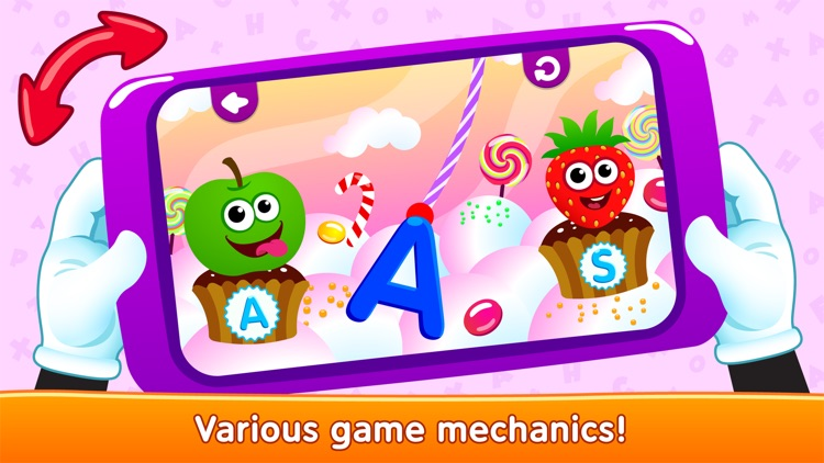 Alphabet! Kids Learning games screenshot-4