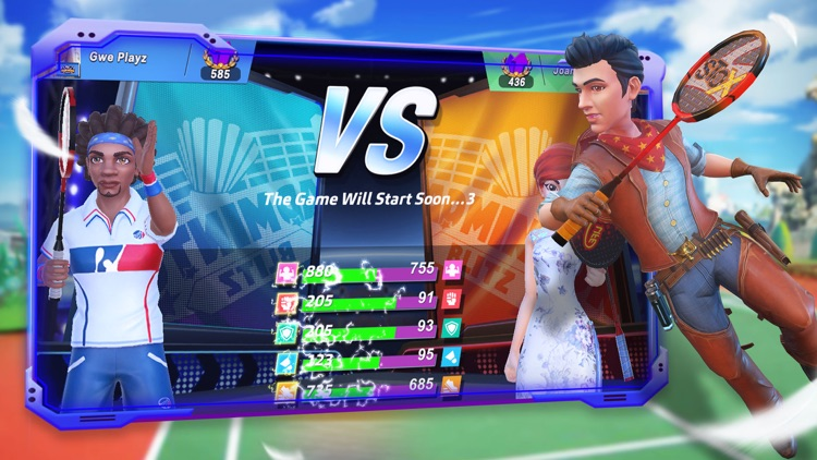 Badminton Blitz -Real PVP Game screenshot-4