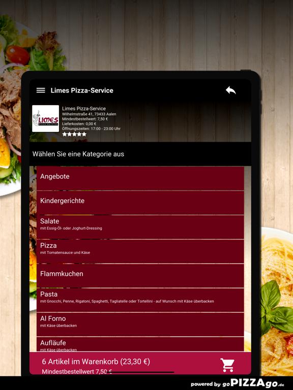 Limes Pizza-Service Aalen screenshot 8