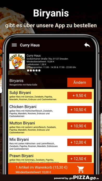 Curry Haus Dresden Pizza screenshot 6