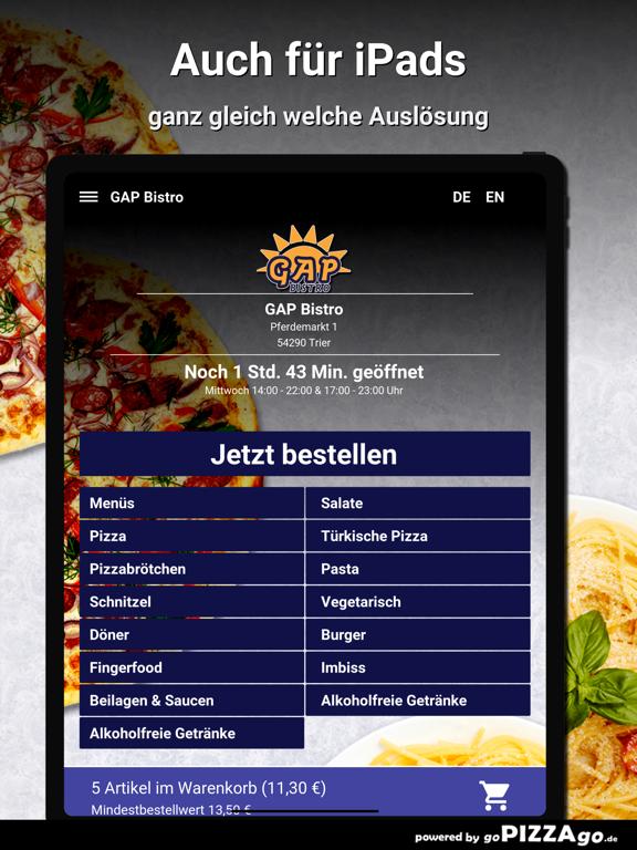 GAP Bistro Trier screenshot 7