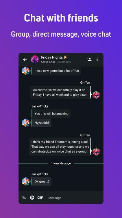 GamerLink - LFG & Voice Chat