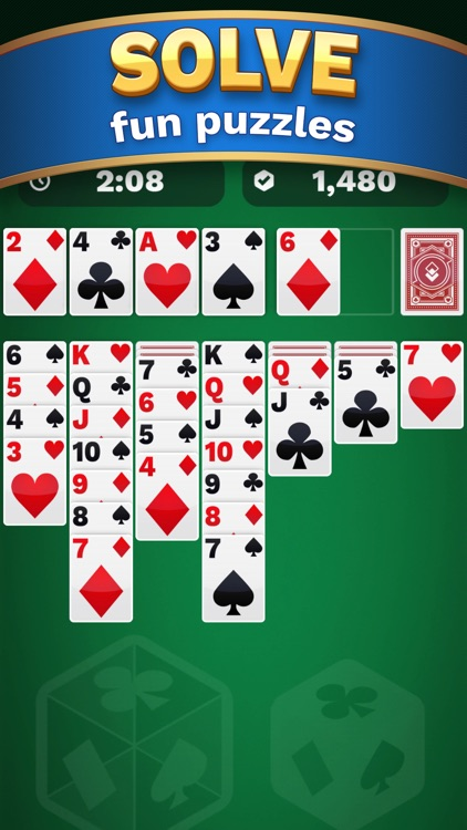 One Solitaire Cube