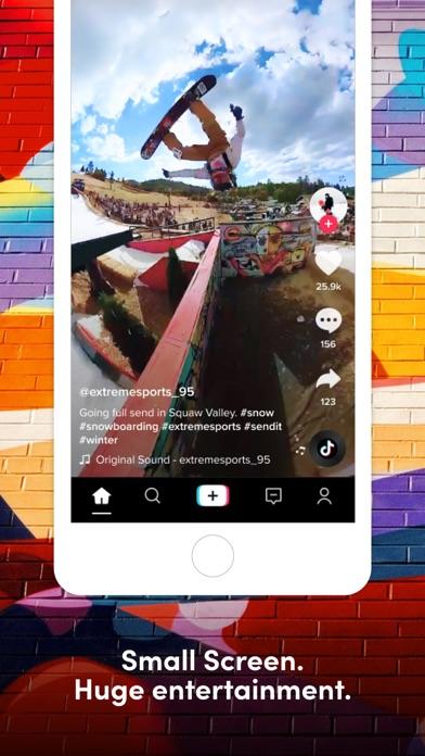 Screenshot of TikTok App