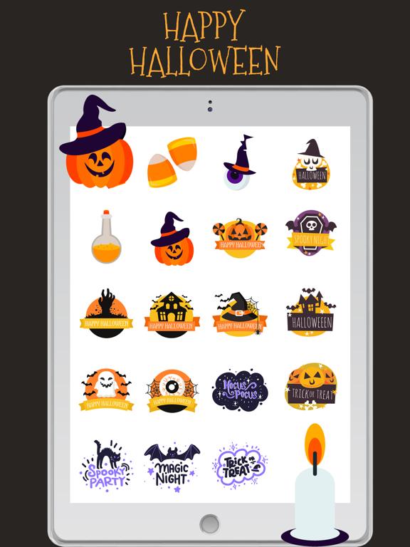 Halloween Stickers!!! screenshot 7