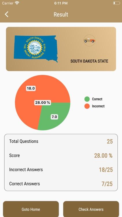 South Dakota DMV - Test Prep screenshot-7