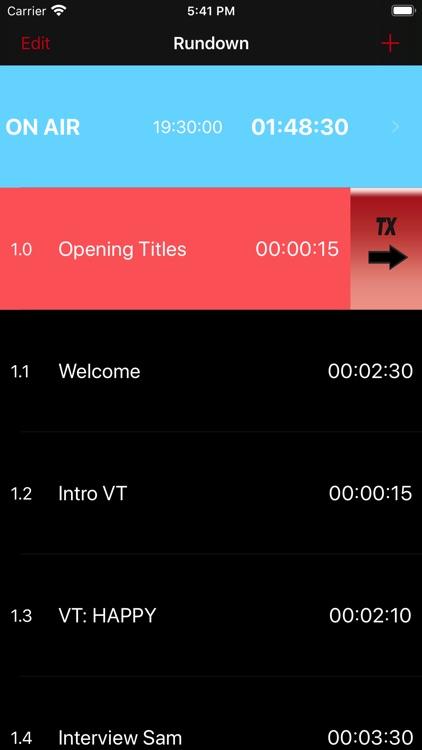 TVProd Timer Pro screenshot-7