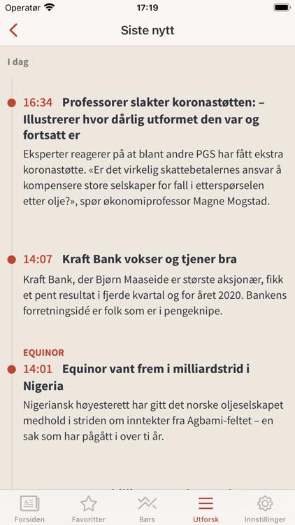 E24 - nyheter om økonomi screenshot-3