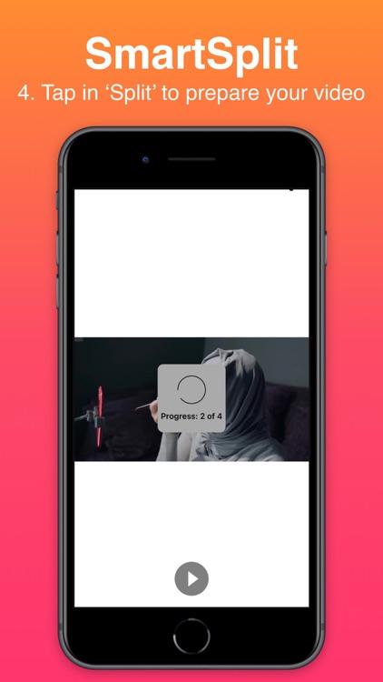 Smart-Split: Split Long Videos screenshot-5