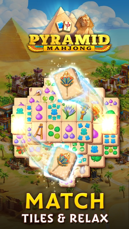Pyramid of Mahjong: Tile Match screenshot-0