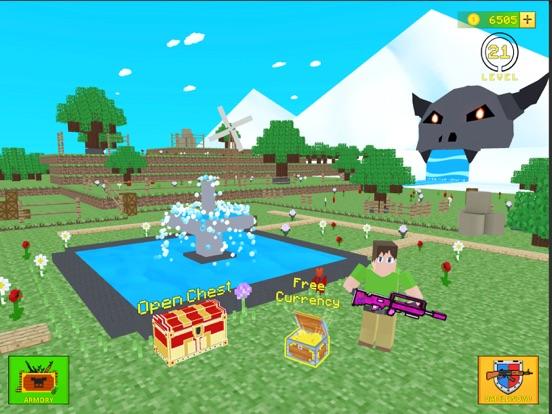 Ipad Screen Shot World Craft Battle Royale 6