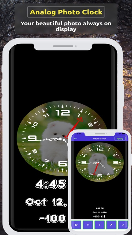 Analog Clock ~ Stand Face Time screenshot-3