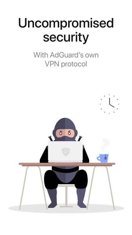 AdGuard VPN – Unlimited & Fast screenshot-4