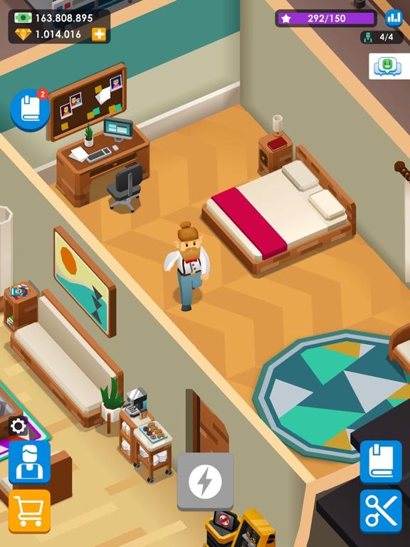 Idle Barber Shop Tycoon - Game iPad app afbeelding 5