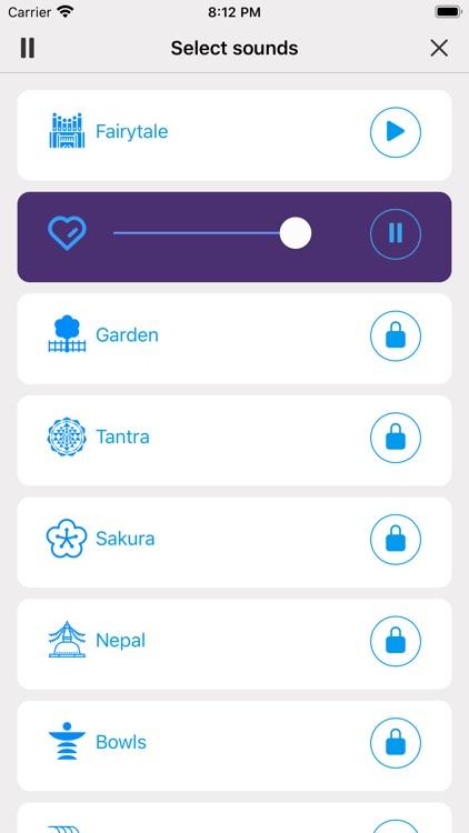 Breathe to Relax Pranayama App screenshot-3
